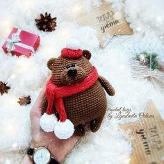 Mesmerizing Crochet an Amigurumi Rabbit Ideas. Lovely Crochet an Amigurumi Rabbit Ideas. Bunny Crochet, Crochet Animal Amigurumi, Crochet Teddy, Crochet Animal Patterns, Amigurumi Patterns, Crochet Dolls, Knitting Charts, Christmas Toys, Stuffed Toys Patterns