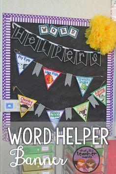 Animal Word Helpers {Reading Decoding Strategies}