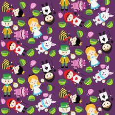 Wonderland fabric by 1211lynn on Spoonflower - custom fabric