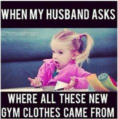 When you have more gym clothes than regular clothes - the struggle is real. Funny gym memes and shirts for people who love fitness! Gym Humour, Workout Humor, Funny Workout Memes, Workout Quotes, Crossfit Humor, Funny Humor Quotes, Exercise Meme, Fitness Motivation, Fitness Quotes