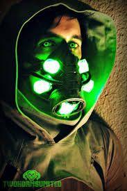 neon gasmask - Google Search