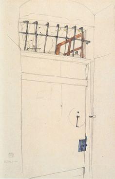 Egon Schiele - Die Tür in das Offene - 21-4-1912 - Egon Schiele - Wikipedia, la enciclopedia libre