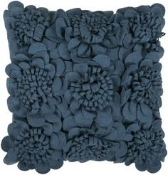 Surya Decorative FA-074 Slate Blue Pillow