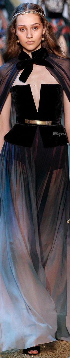 Elie Saab Fall 2017 Couture @GorgeousFashion