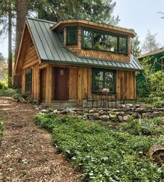 Mostly Log Cabins — #log cabin style
