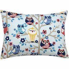 Whoo Whoo Owl Boudoir Pillow