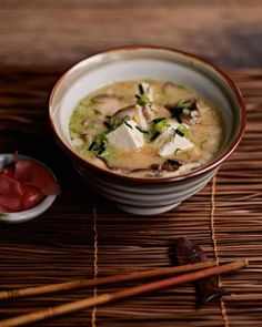 Tofu Stew with Miso and Shiitake Recipe from Chef Andrew Carmellini.
