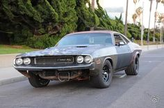 Post pics of muscle cars with Nascar style wheels - Ford Mustang Forums : Corral.net Mustang Forum