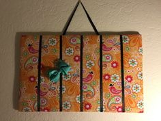 Bow Organizer by InspiradaPorJULIA on Etsy