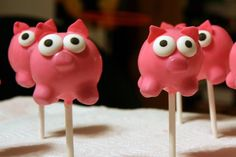 Cupcakes Take The Cake: Valentine's Day cake pop class February 2nd, plus Lalaloopsy cake pops