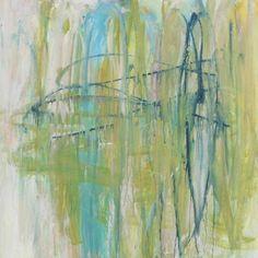 "Saatchi Art Artist Brenda Hope Zappitell; Painting, ""five"" #art www.zappitellstudio.com"