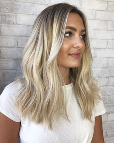 White+Gold+And+Silver+Balayage+For+Brunettes
