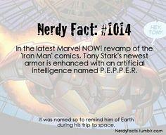 Nerdy fact# 1014