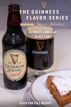 Spice up your at-home dessert recipes with Chef Corwin Hemming's Guinness Jamaican Black Cake, the latest dish for the Guinness Flavor Series. A special twist on the classic Caribbean fruit cake, this zesty recipe contains rum and dried fruit soaked in Guinness Extra Stout, as opposed to red wine like the original dish, creating a more distinct, bittersweet flavor. And remember, whenever cooking at home, add Guinness to help you unlock unique flavors & new possibilities for any cooking occasion Black Cake Recipe, Tequila Cake, Guinness Recipes, Just Desserts, Dessert Recipes, Spicy Soup, Whats For Lunch, Jamaican Recipes, Cook At Home