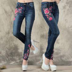 Envío-gratis-flor-del-bordado-pantalones-elásticos-pies-vaqueros-pantalones-bordados-marea.jpg_640x640.jpg (640×640)