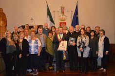 Una delegazione di italo-americani a Norcia, alla ricerca delle proprie origini