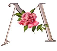 Alfabeto floral y más flores | Aprender manualidades es facilisimo.com