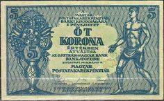 5 Korona Maďarsko 1919, Pick 34 Hungary, No Time For Me, The Past, History, World, Movie Posters, Coining, Historia, Film Poster