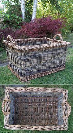Rectangular Storage/ Log Basket