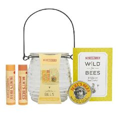 Burt`s Bees Wild For Bees Gift Set This collections ode to the bees includes 100% natural moisturising Beeswax Lip Balm with Vitamin E  Peppermint, Honey Lip Balm and nourishing Hand Salve. This gift also includes a Wild for Bees wild http://www.MightGet.com/january-2017-11/burts-bees-wild-for-bees-gift-set.asp