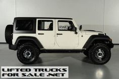 2013 Jeep Wrangler Unlimited Kevlar Coated Lifted