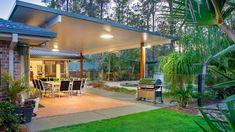 Pergola With Roof Plans Info: 3682161540 Pergola Ideas For Patio, Cheap Pergola, Outdoor Pergola, Diy Pergola, Outdoor Rooms, Outdoor Living, Wedding Pergola, Outdoor Patios, Pergola Cover