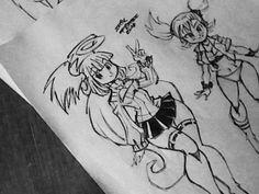 AT Mojito chan and Teki by ERIK96.deviantart.com on @DeviantArt