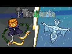 Terraria: Lunar Farm - Pumpkin/Frost Moon Farm! - YouTube