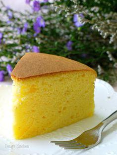 Condensed Milk Cotton Cake