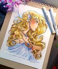 Fairy girl commission by KelleeArt.deviantart.com on @DeviantArt