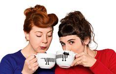Mug cups for couples.