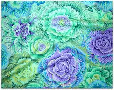 I love theses two Philip Jacobs and Kaffe Brassica they design the most vivid detailed fabric.