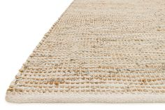 This rug is handwoven with alternating strips of jute and leather, creating an incredibly rich tactile experience underfoot. Rendered in versatile ivory hues, this rug will work well with a variety...