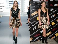 Adèle Exarchopoulos In Louis Vuitton - Romy Schneider and Patrick Dewaere Awards. Re-tweet and favorite it here: https://twitter.com/MyFashBlog/status/453634706618085376/photo/1