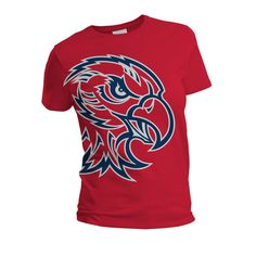 trends in school spirit shirts Cheer Shirts, Sports Shirts, Football Shirts, School Spirit Wear, School Spirit Shirts, School Tshirt Designs, Pep Club, T Shirt Image, School Logo