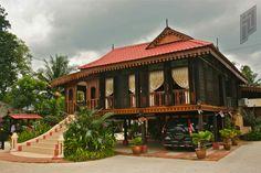 Malay traditional house, Langkawi, Malaysia