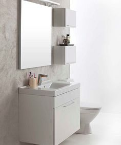 IDO Select Bathroom Inspiration, Bathroom Ideas, Small Cabinet, Faucet, The Selection, Oras, The Originals, Wall, Cabinets