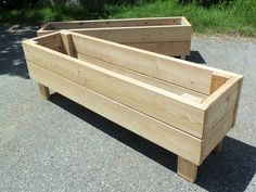 """Images search results for """"jardiniere"""" - Modern Diy Wooden Planters, Wood Planter Box, Garden Boxes, Garden Planters, Ideias Diy, Fence Landscaping, Garden In The Woods, Garden Projects, Container Gardening"""