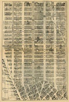 historic Mid town Manhattan map - Norton Safe Search