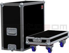 Flightcase, Bogner RHS 2002/95/EC, rodas | Santosom