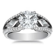 Forevermark Platinum & Diamond Engagement Ring $27,000