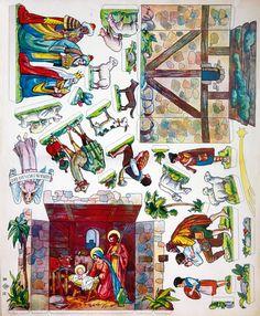 Hunting Horn Nativity - PaperModelKiosk.com
