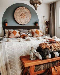 Home Interior Salas .Home Interior Salas Warm Home Decor, Bedroom Inspirations, Cheap Home Decor, Bedroom Design, Bohemian Bedroom Decor, Bedroom Decor, Home Decor, House Interior, Room Decor