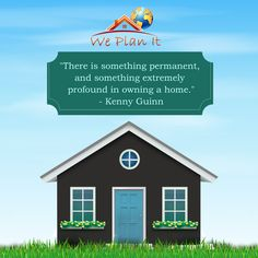 """"""" There Is Something Permanent, And Something Extremely Profound In Owning A #Home. """"  #LuxuryRealEstate Properties in #India: www.weplanithk.com  #IndianProperty #PropertyInvestment"""