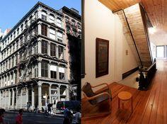 FROM: fer Architect Donald Judd´s SoHo Loft at 101 Spring St. NYC