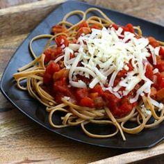 Tomato Basil Fettucine