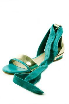 Shoptiques — Ankle Ribbon Sandal