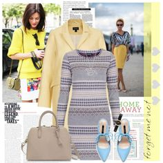 """Yellow Trend"" by kibu on Polyvore"