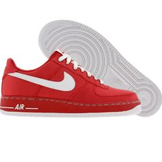 info for 0438d 0f62e Nike Womens Air Force 1 07 Low (varsity red  white) 314219-611 - 74.99