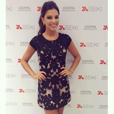 Vai dizer que esse vestido não é a cara da @marianarios ?  #coquetel #seikifashion #sobreontem #diva #dress #foitop